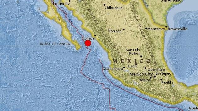 SISMO 6,1 REMECE NOROESTE DE MEXICO, 8 DE OCTUBRE 2014