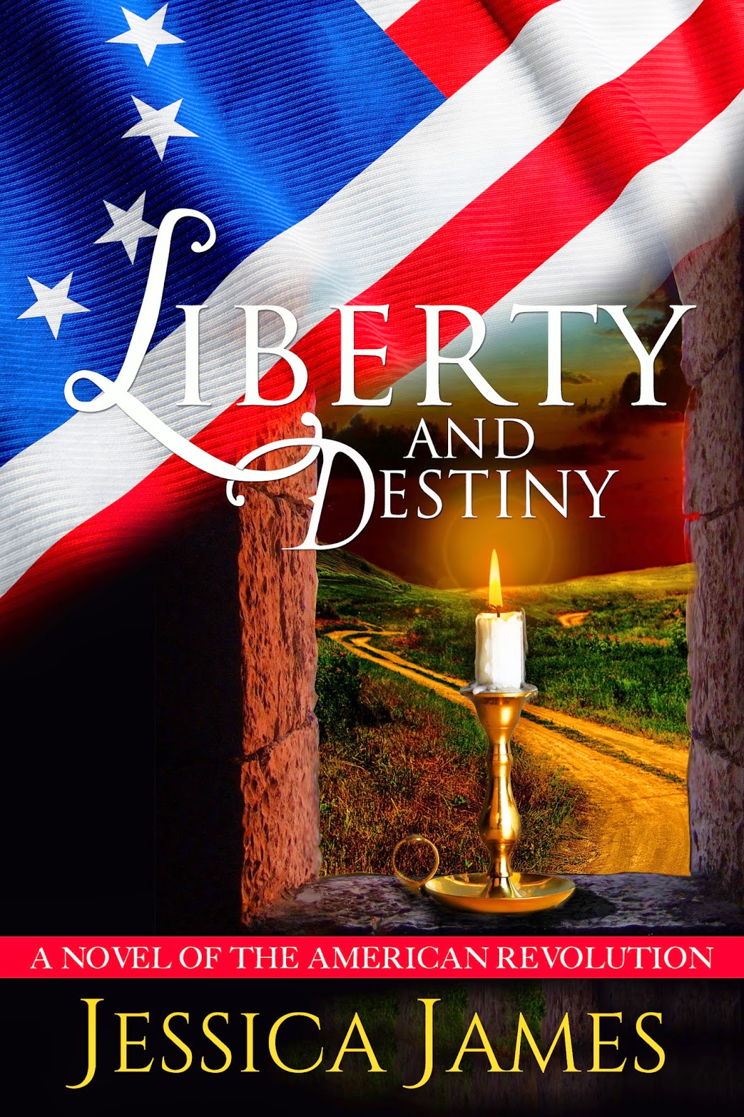 Historical Fiction author Jessica James' Revolutionary War novella