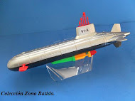 "Submarino Ruso Clase ""Typhoon""."
