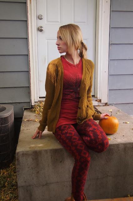 soul+flower+fall+print+leggings - Stepping Stones