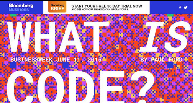 Bloomberg Business' What Is Code