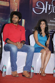Priya Anand Pictures in Short Dress at Arima Nambi Movie Press Meet ~ Celebs Next