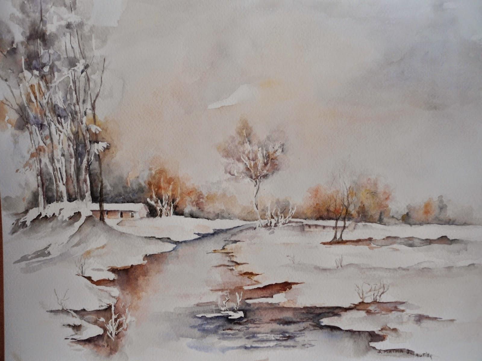 lumière d hiver