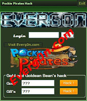 pockie pirates gold hack