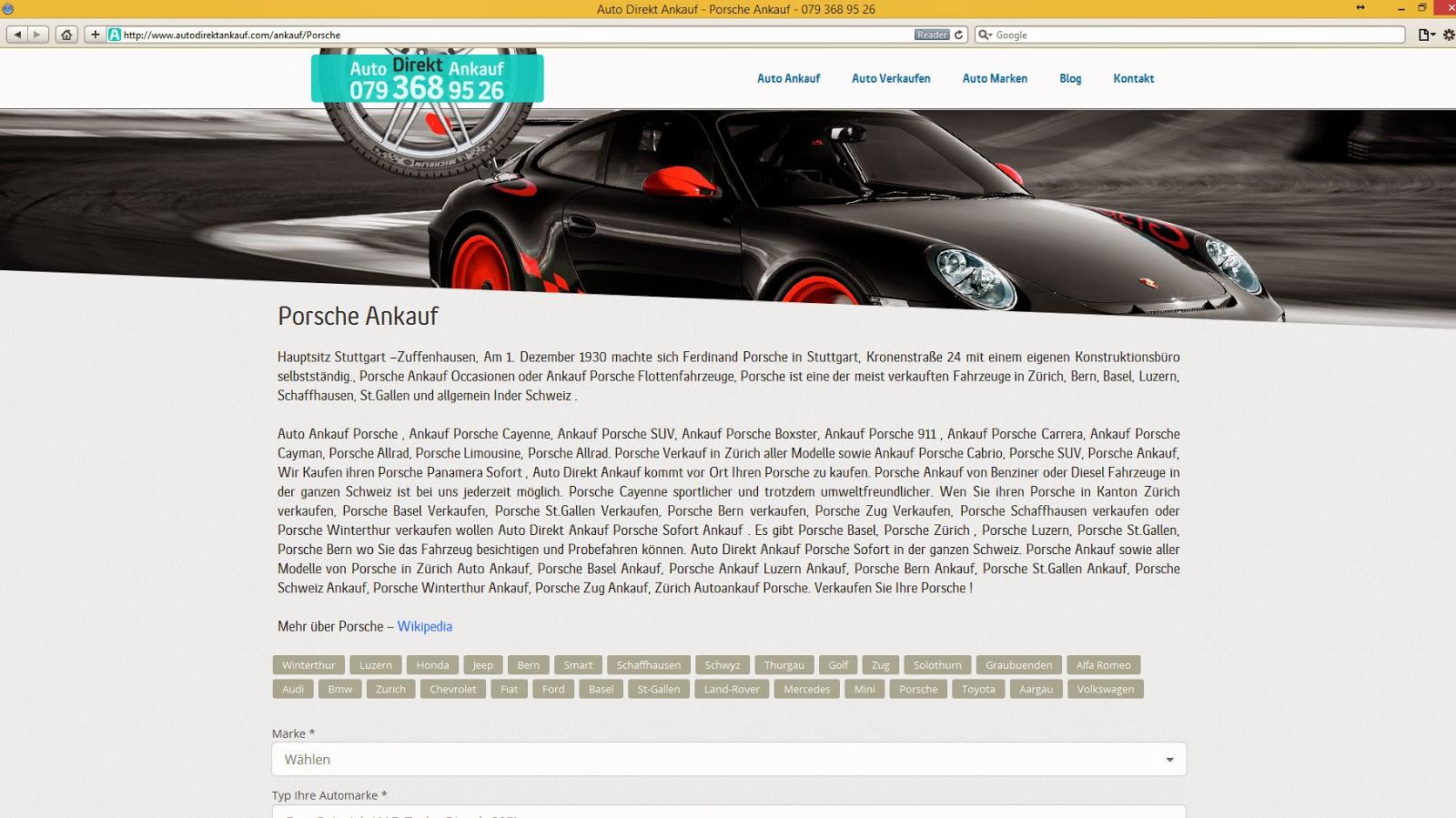 Auto Direkt Ankauf Alt Sayfa