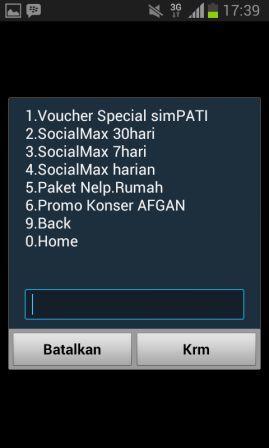 Cara Daftar Paket Internet Social Max Harian 10 MB Gratis BBM, Line, WhatsApp