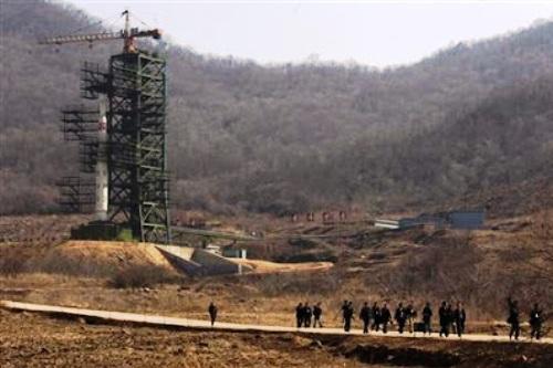 Fasilitas peluncuran roket Korea Utara