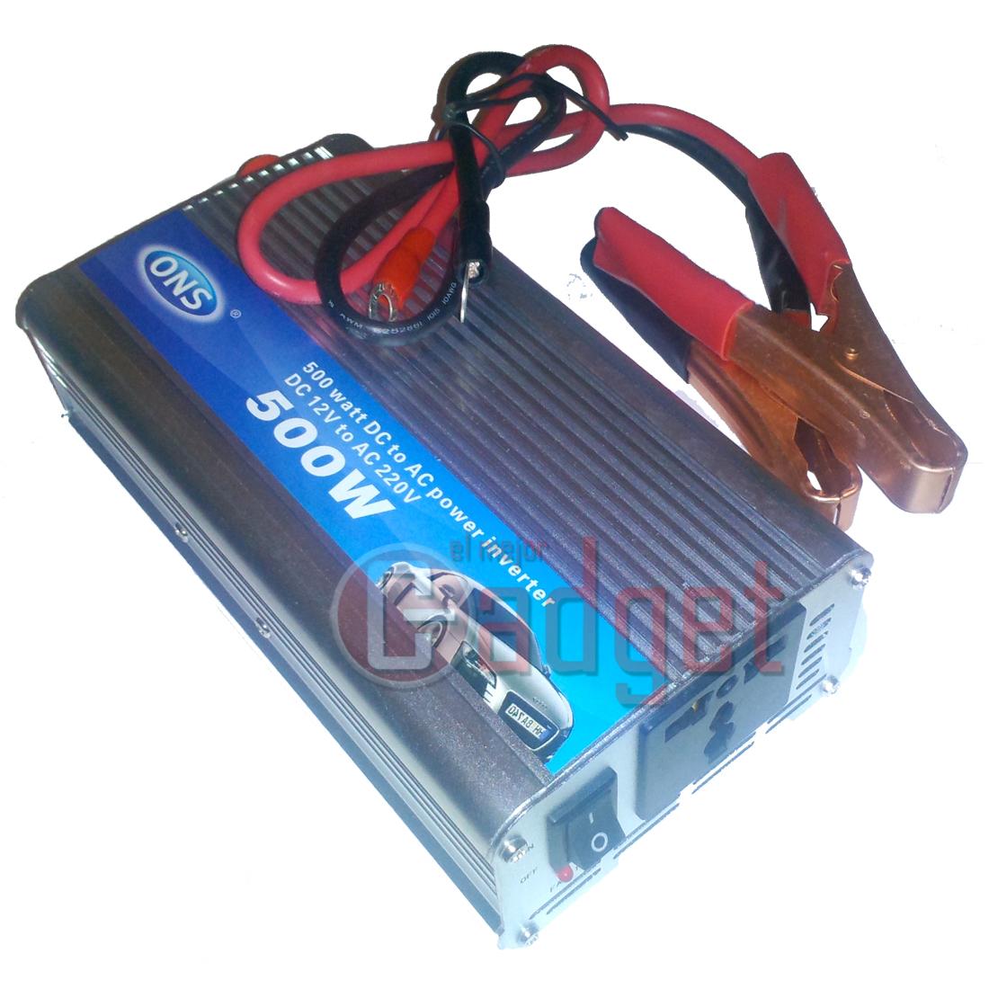 Transformador para coche conversor inversor corriente de for Transformadores de corriente 220v a 12v