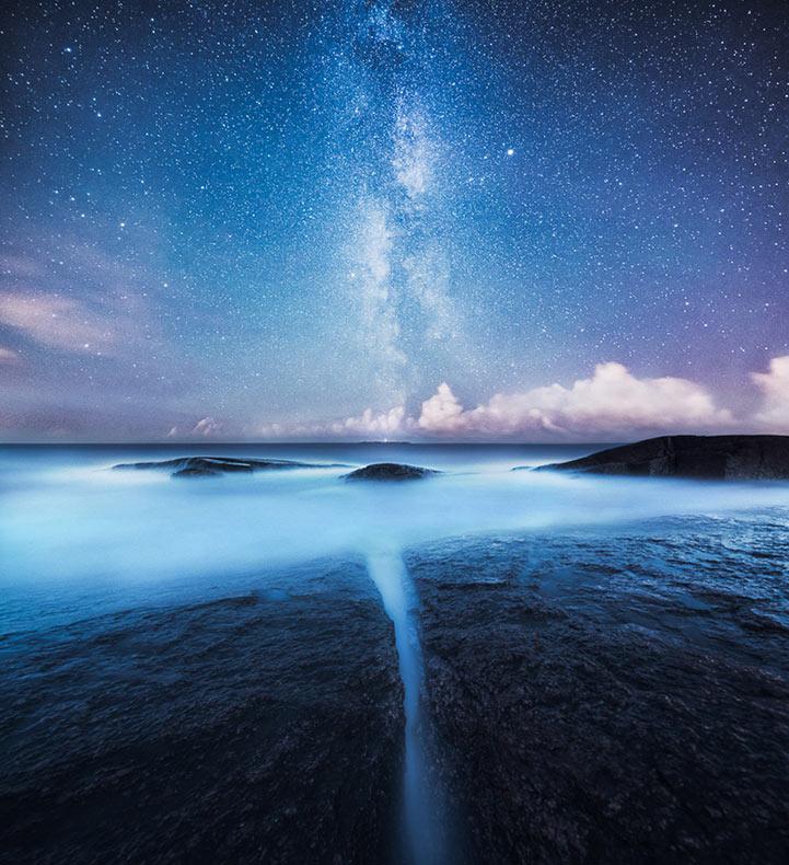 Fotografía de la noche de Finlandia por Mikko Lagerstedt