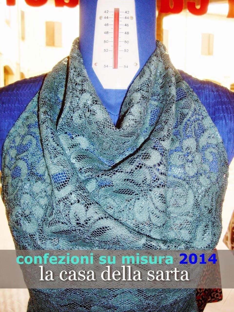 vestito su misura tubino 2014