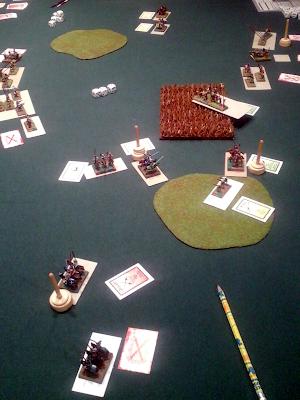 Playing Liber Militum Tercios