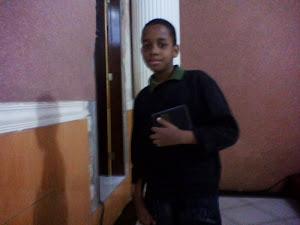 Este é o amor de minha vida meu filho e padrinho do meu blog que DEUS te abençoe te amo amorzinho