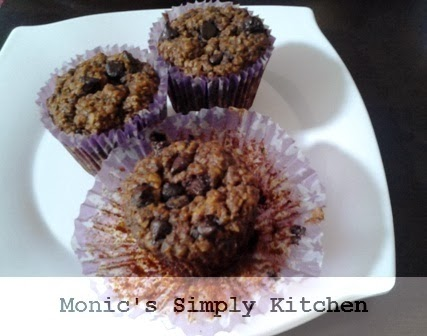 resep muffin coklat oatmeal dengan chocochips