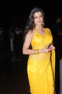 Telugu+actress+Madhurima+Yellow+Saree006 Telugu Actress Madhurima in Yellow Saree Photo Gallery