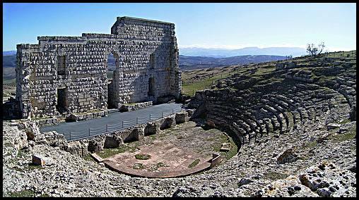 Lugares con encanto en espa a las ruinas de acinipo - Lugares de madrid con encanto ...