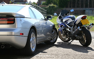 Car and Bike