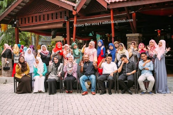 Awesomazing Team bersama mentor CDM Azlan dan CDM Hamisah group photo