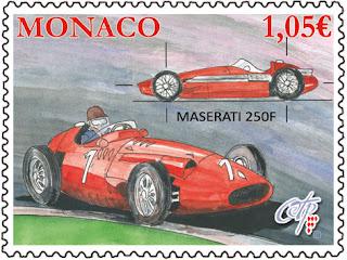 Monaco:  MASERATI 250F - www.oetp-monaco.com
