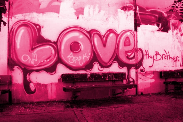Gips: Graffiti Love - Happy Valentine Day'-s