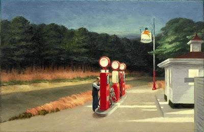Edward Hopper - Gas station,1940