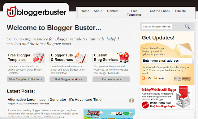 blogger buster