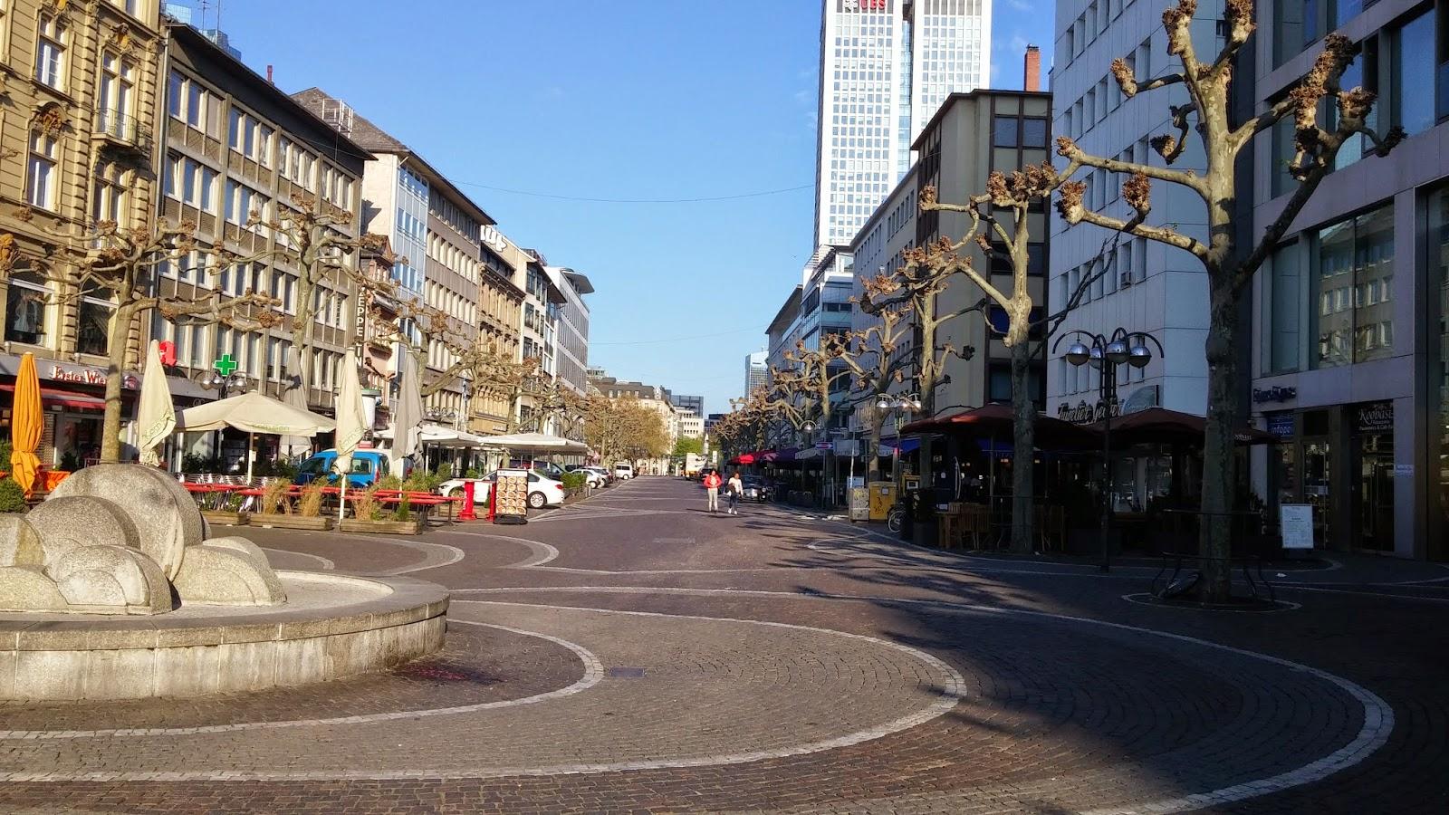 Frankfurt gezi notlar m ve messe fuar alan berkant sert for Liebfrauenberg frankfurt