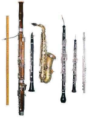 instrumento viento madera: