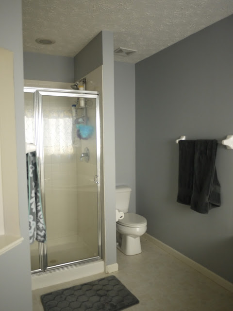 Gallery for behr french silver bathroom for Modern day bathrooms