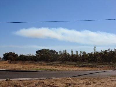 Yuba City, Land Of Mysterious Smoke Plumes