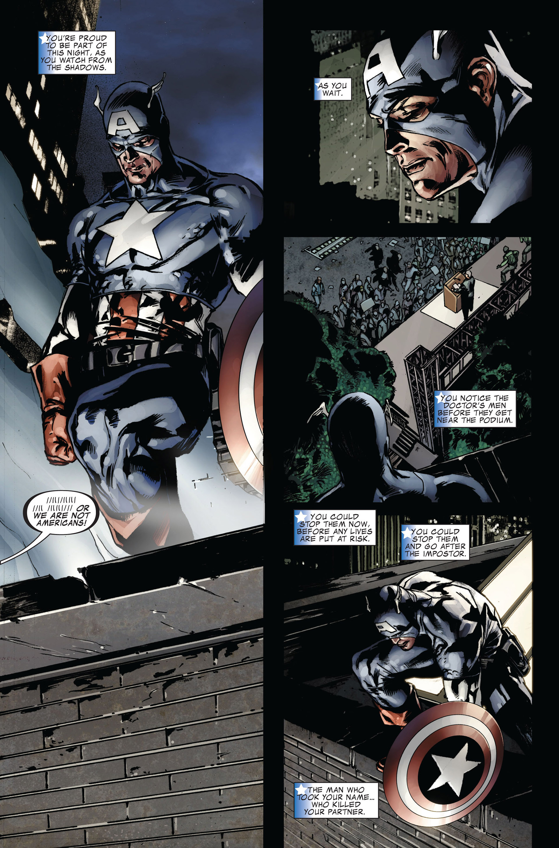 Captain America (2005) Issue #39 #39 - English 4