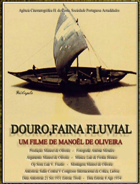 Douro, Faina Fluvial.(1931). Manoel de Oliveira. Sinfonía Urbana