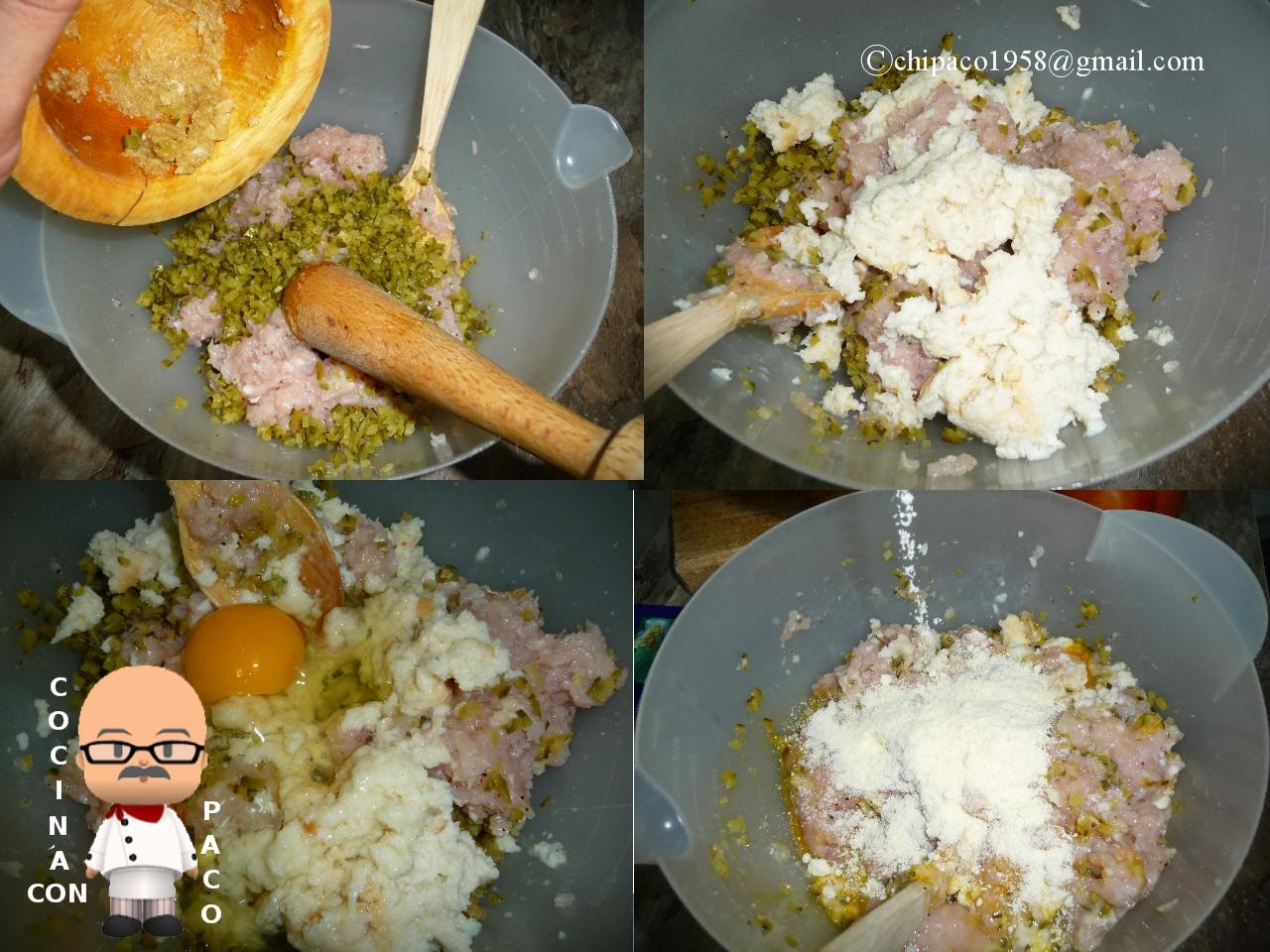 Cocina con paco alb ndigas de pollo - Cocina con paco ...