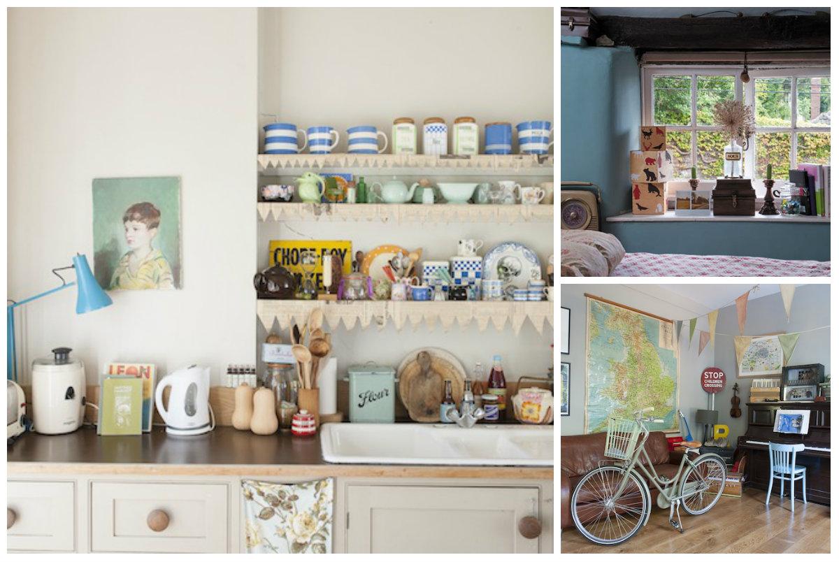 Interiores vintage decoraci n - Decoracion interiores vintage ...