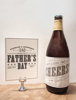 Father's Day Beer Bottle Label