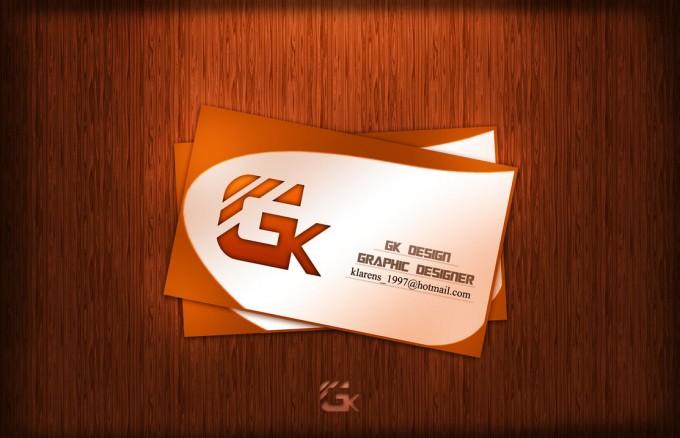 Carte Visite GK Professional Un Theme Gratuit Et Moderne Dune De Format PSD