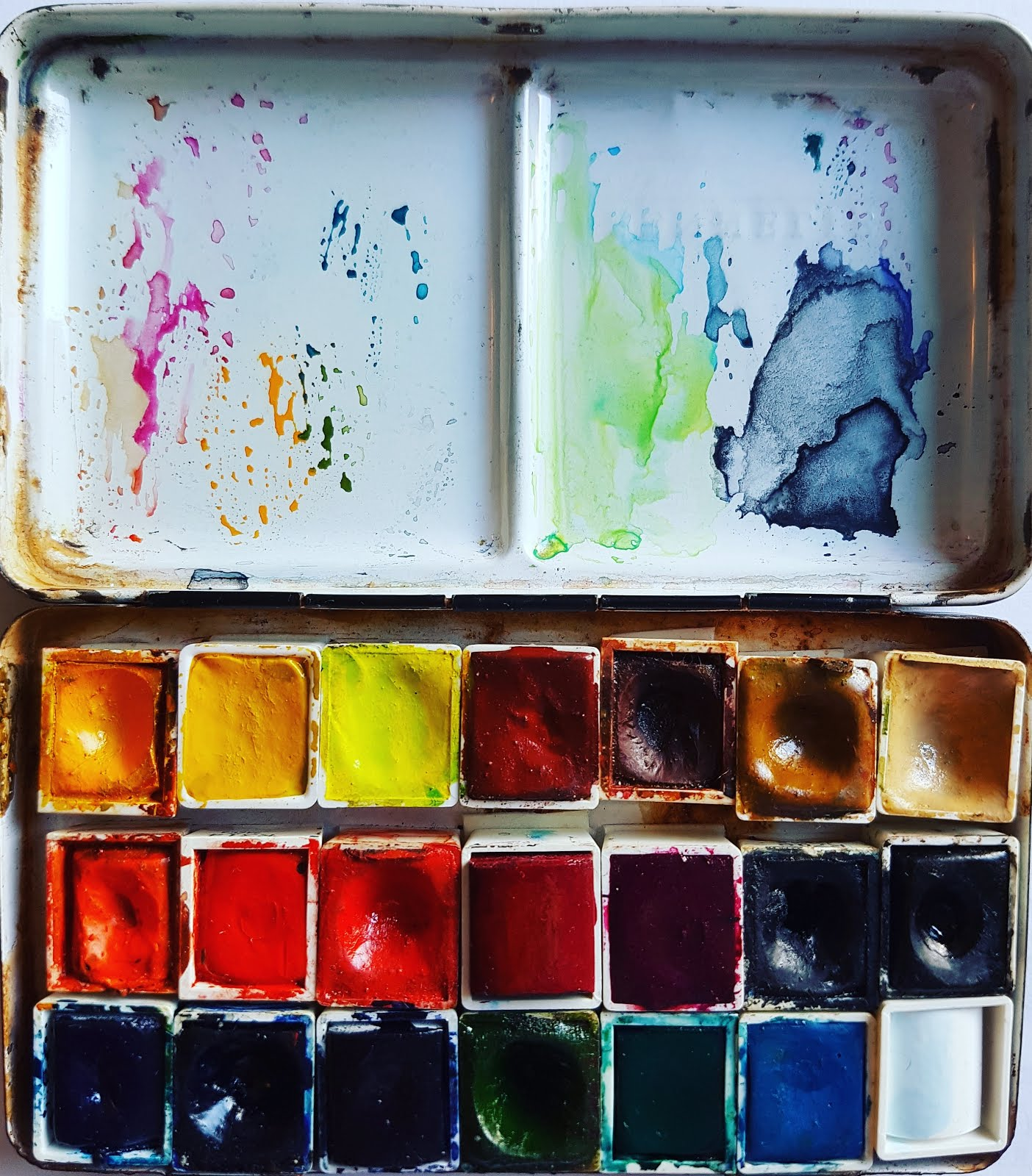 my current palette