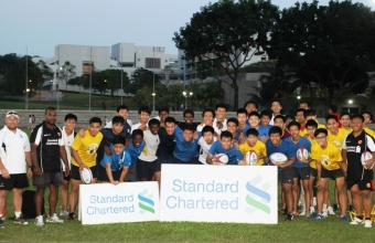 SCB&#8216;A&#8217; Div Rugby Clinic