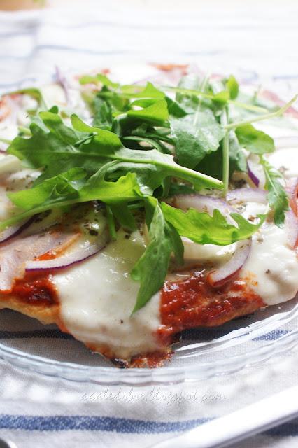 pizza z patelni aaaledobre.blogspot.com