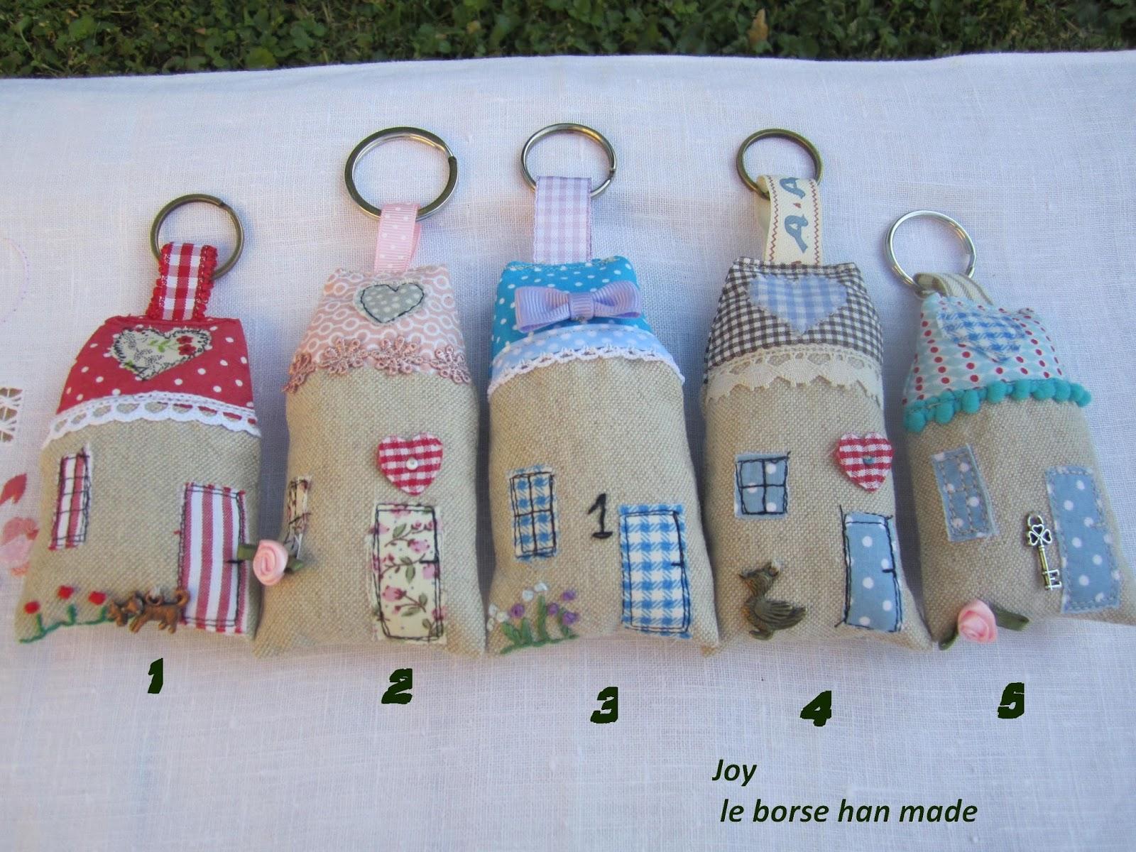 abbastanza Joy Le Borse Hand-made: Portachiavi AN27
