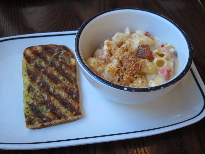 Review: Corner Bakery Cafe - Bacon Tomato Mac & Three ...