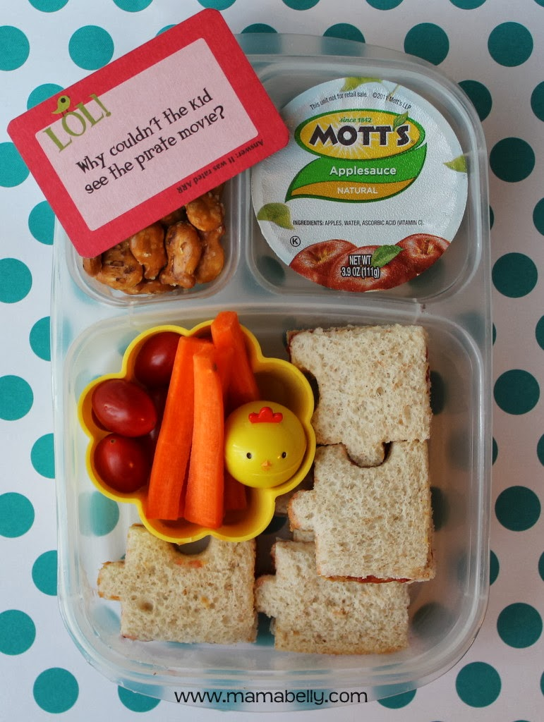 Silly Lunches in Easylunchboxes - mamabelly.com