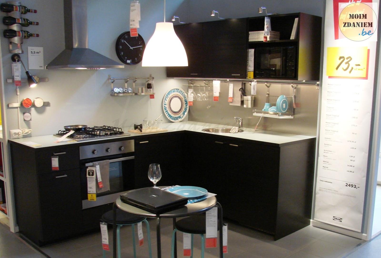 moim zdaniem Ikea, otwarcie przebudowanego działu kuchennego, nowości i insp   -> Kuchnia Ikea Tania