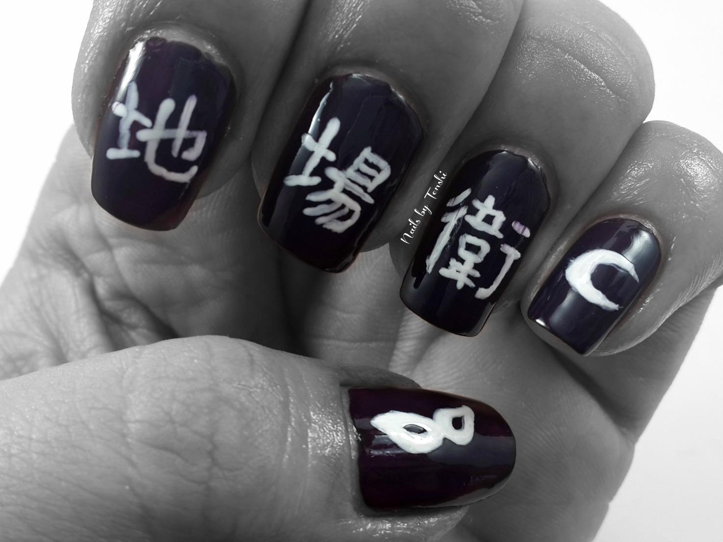 Chiba Mamoru nail art