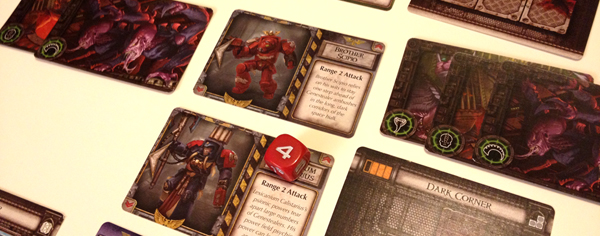 Space Hulk Death Angel card game review