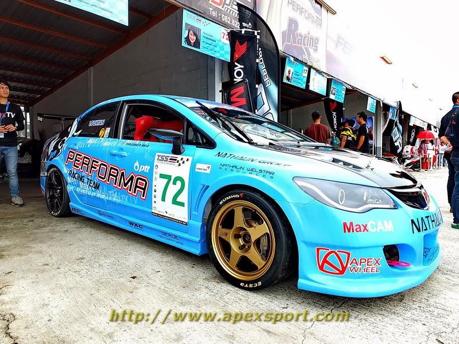 รถแข่ง K.ลูกตาล Rota+RacingTek