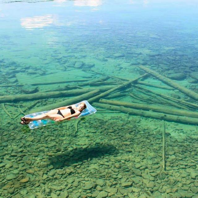 Leigh Lake in Libby Montana, USA