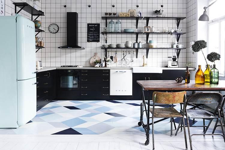 Decoraci n f cil elementos reciclados para crear estilo for Modelos de cocinas industriales