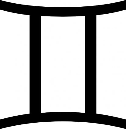 gemini zodiac symbols