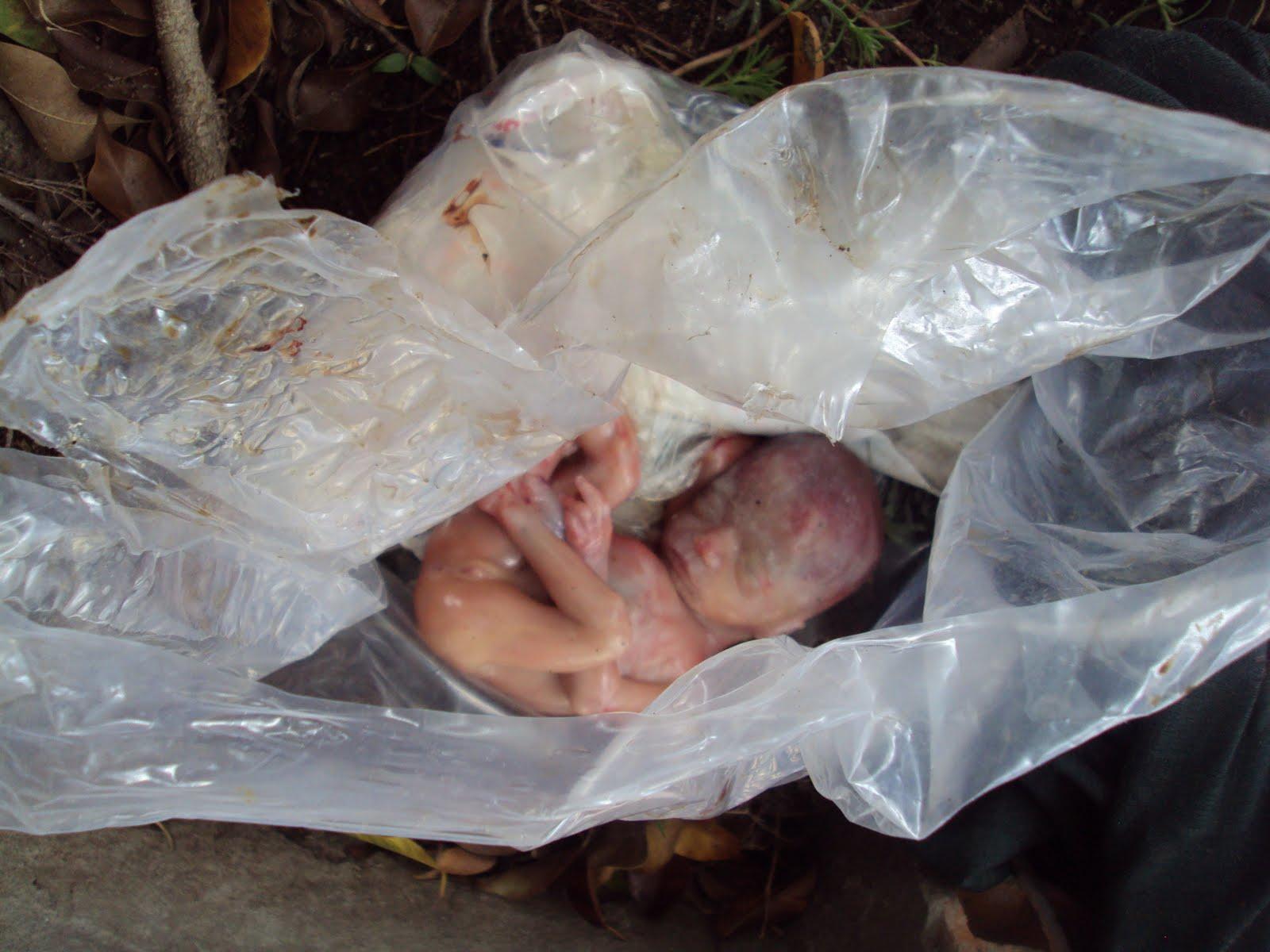 Feto de uma menina é encontrado no centro de Paulo Afonso-BA