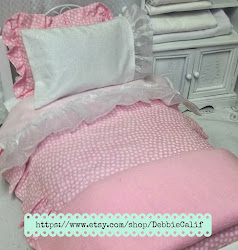 American Girl Doll sized Bedding